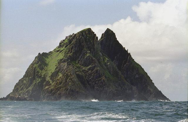 The Skellig Michael island. Author:Jerzy StrzeleckiCC BY-SA 3.0