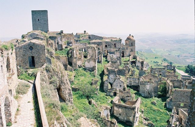 Craco from above