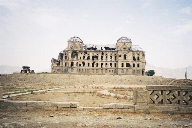 Darul Aman Palace's western face