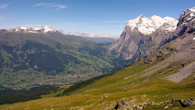 Grindelwald from above. Author:CC BY-SA 3.0CC BY-SA 3.0