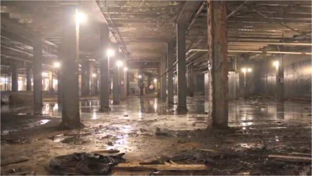 The abandoned Williamsburg Trolley Terminal space. Author: TheLowline CC BY 3.0