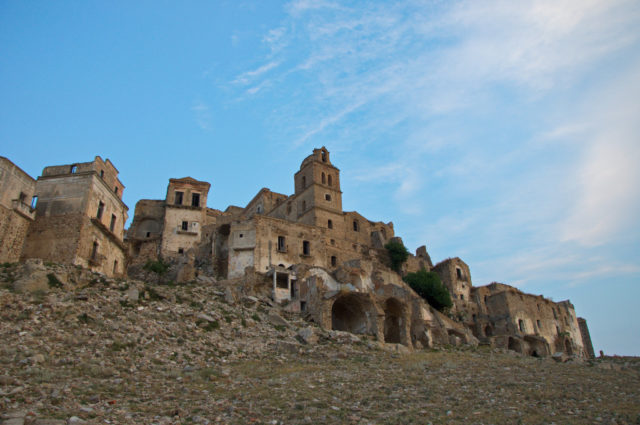 Ghost town Craco. Author:AntoniettaCC BY-SA 2.0