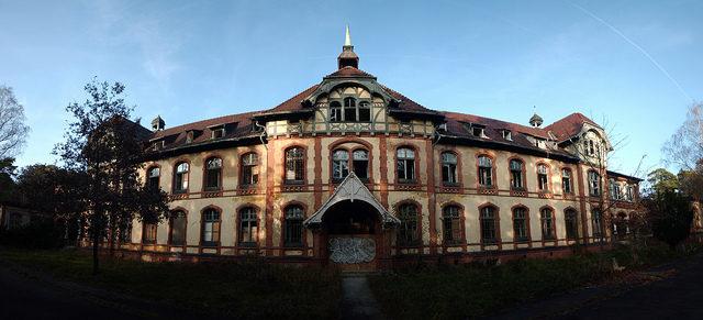 Beelitz Heilstätten.Author: Moisturizing TranquilizersCC BY 2.0