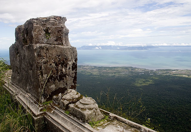 View to the Gulf of Thailand from Bokor. Author: Petr Ruzicka CC BY 2.0