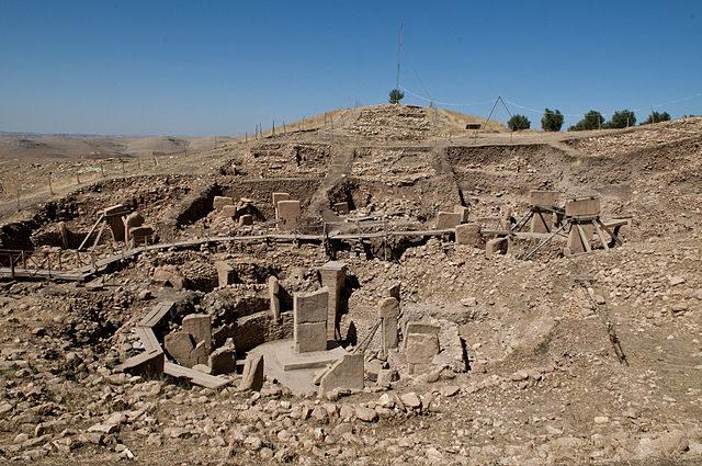The ruins of Gobekli Tepe. Author: Teomancimit CC BY-SA 3.0