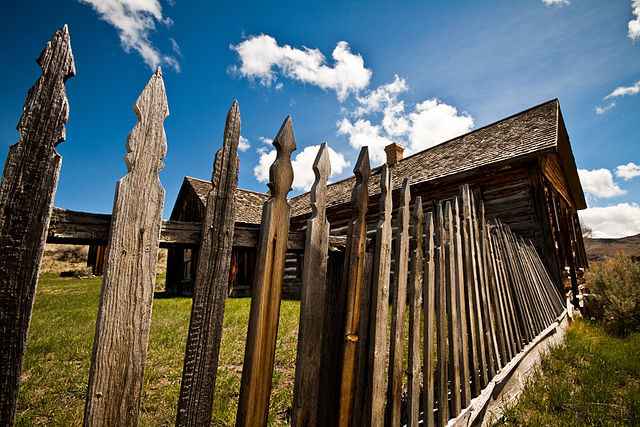 An abandoned house in Bannack, the first Territorial Capital of Montana.            Author:Nomadic LassCC BY-SA 3.0