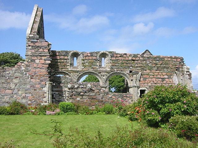 Nunnery, Isle of Iona, Scotland. Author: Hartmut Josi Bennöhr CC BY-SA 3.0