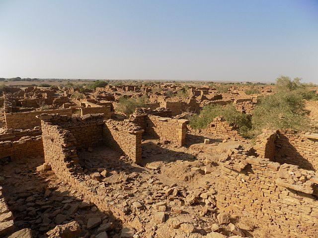 Ruins of Kuldhara.Author:Suryansh Singh (DarkUnix)CC BY-SA 4.0