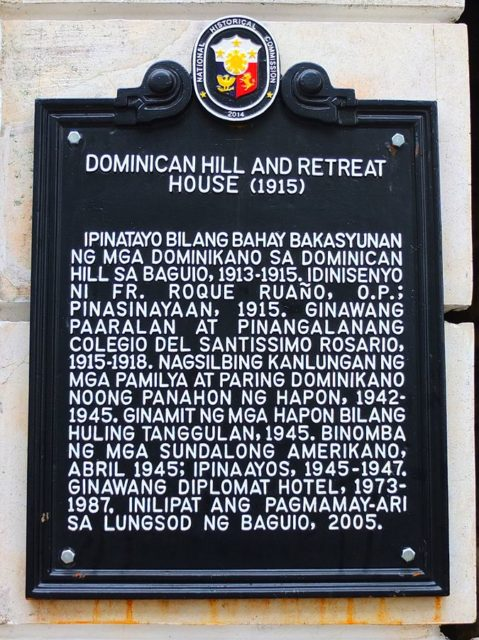 NHCP Marker of the Diplomat Hotel. Author: Ramiltibayan CC BY-SA 4.0