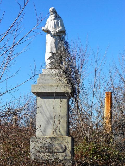 Grave in the Mt. Moriah Cemetery in Philadelphia.Author:Smallbones CC0