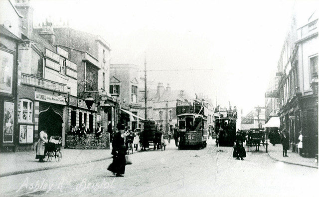 Ashley Road, Bristol, date unknown.Author:brizzle born and bred CC BY-ND 2.0