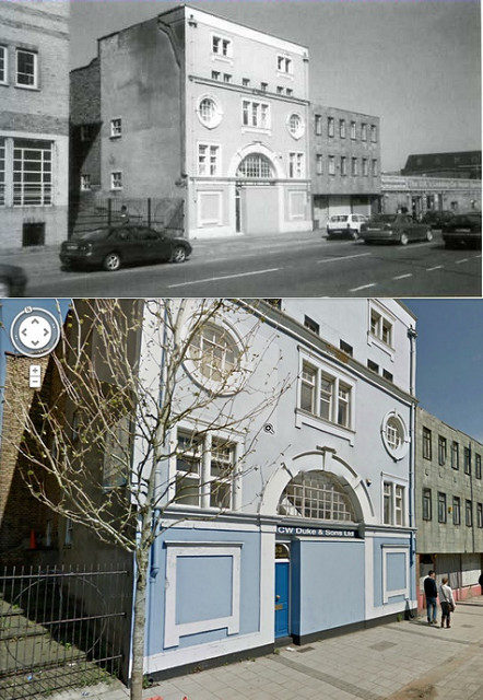 The Magnet Cinema, then and now, Newfoundland Street, 1914-1937.Author:brizzle born and bred CC BY-ND 2.0