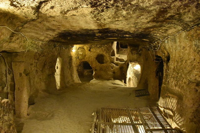 A large room deep underground. Author: MusikAnimal CC BY-SA 4.0