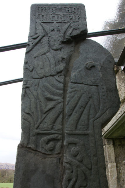 Ardchattan Priory, Argyll and Bute, Scotland – MacDougall Cross (back). Author: Otter CC BY-SA 3.0