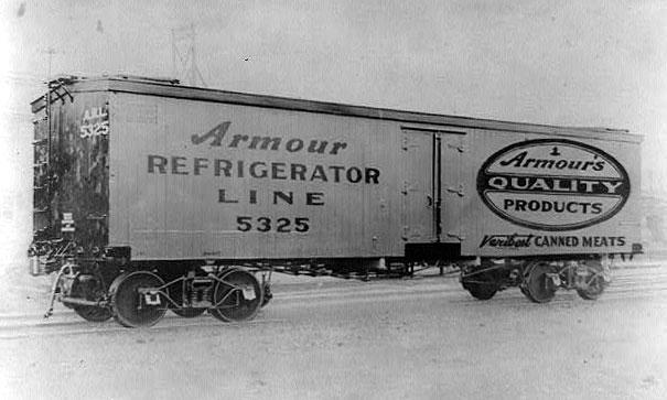 Armour refrigerator line. Public Domain