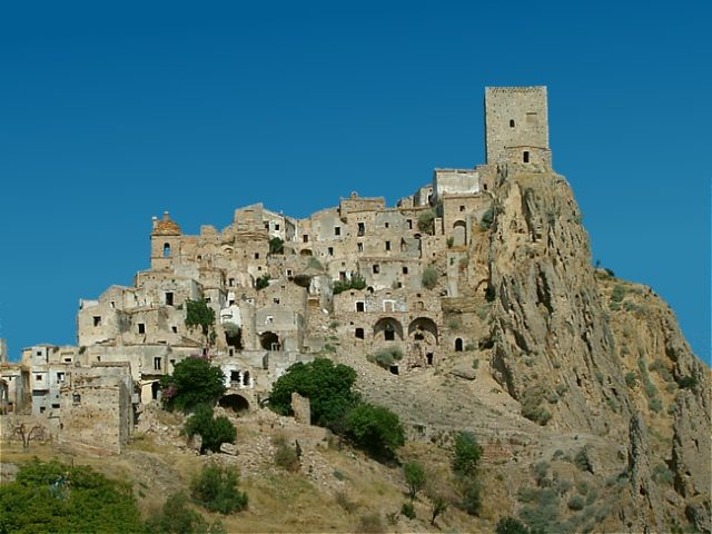 The old town of Craco.Author:IdéfixCC BY-SA 3.0