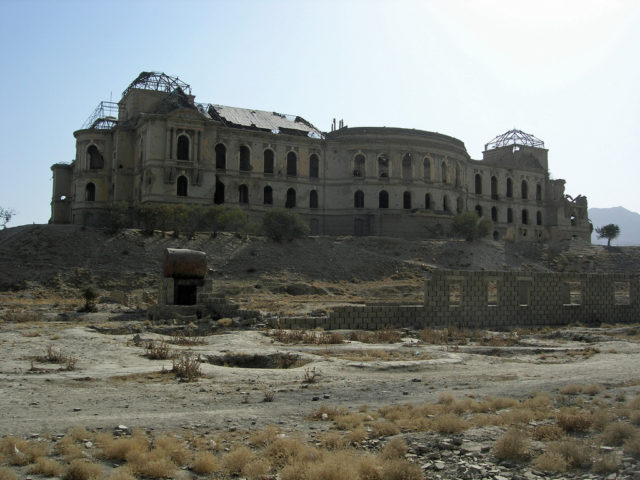 Darul Aman Palace. Author: Carl Montgomery CC BY 2.0