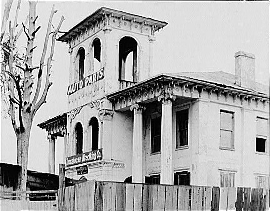The Drish House in 1936.
