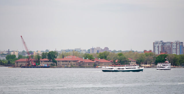 Ellis Island Immigrant Hospital. Author: InSapphoWeTrust CC BY-SA 2.0