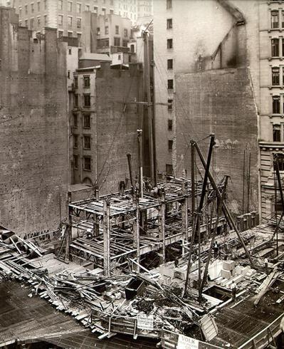 Final demolition