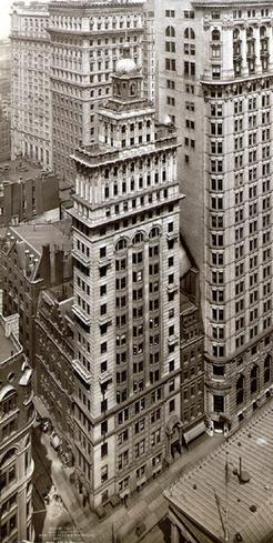 Gillender Building, Financial District, Manhattan 1900.