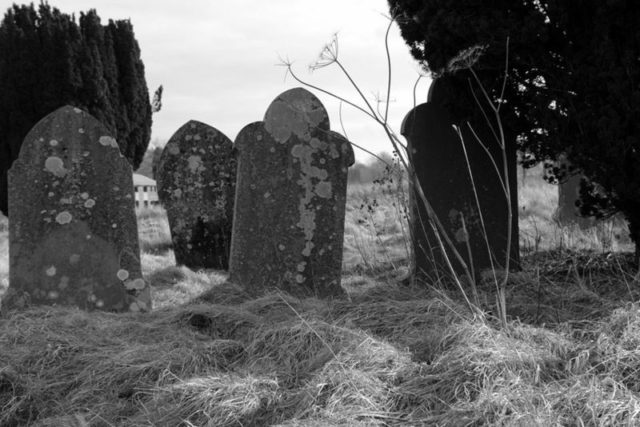 Gravestones of old.Author:Scott WylieCC BY 2.5