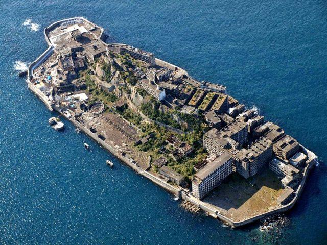 Hashima Battleship Island. Author:kntrtyCC BY 2.0