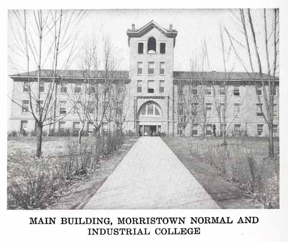 Laura Yard Hill Building – Main Building of Morristown College. Author: Jay S. Stowell CC BY 4.0
