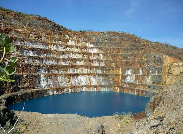 Mary Kathleen Uranium Mine. Author: Carole Mackinney CC0 1.0