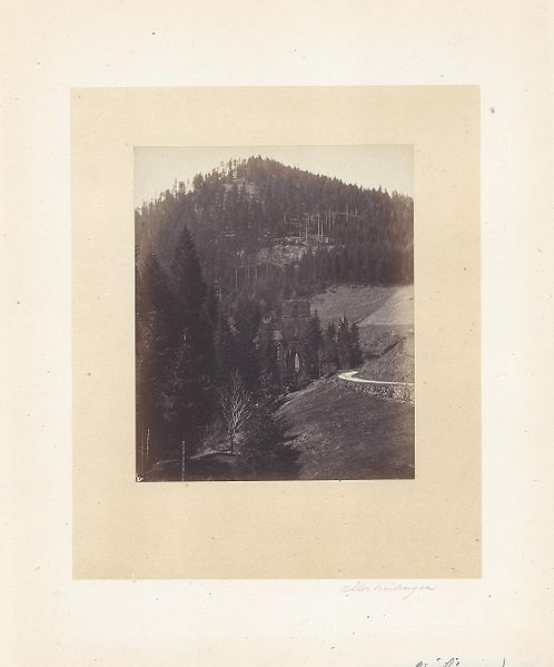 An old photo depicting the Black Forest