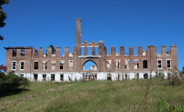 Remnants of Morristown College. Author: Bravidos CC BY-SA 3.0