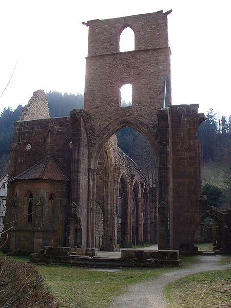 Ruins of All Saints' Abbey. Author: Kerish CC BY-SA 3.0