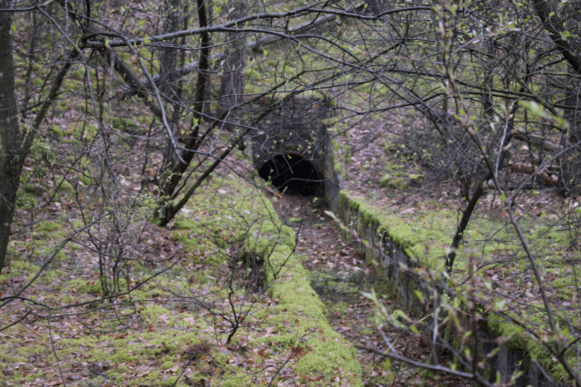Tunnel to the sewage treatment plant