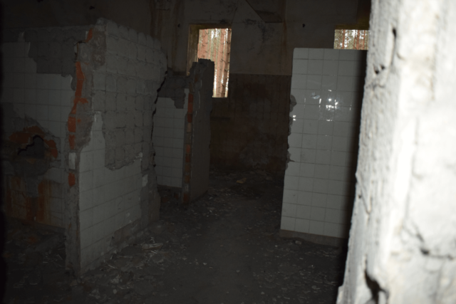 Toilets of the heat power station