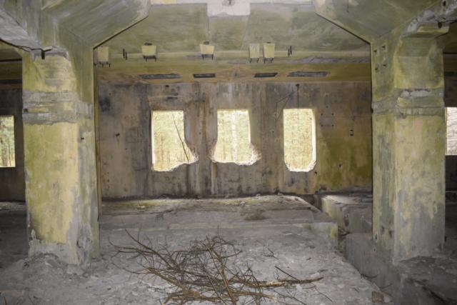 Interior of the building no. 252.