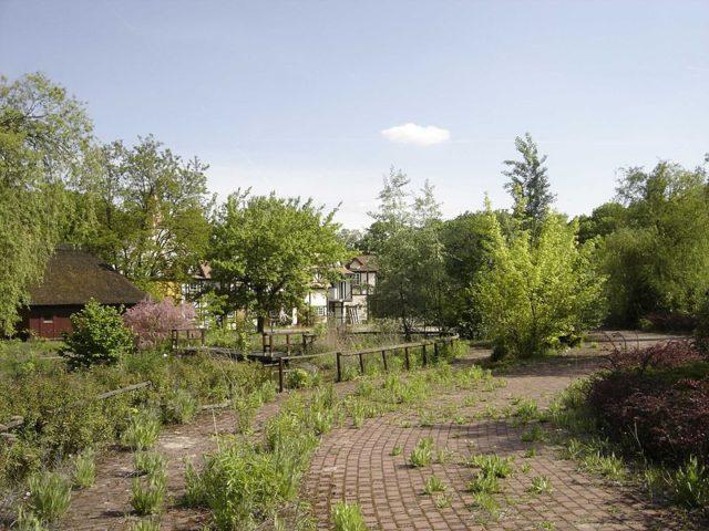The abandoned Spreepark in Plänterwald. Author: Geierunited~commonswiki