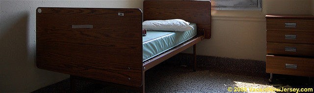 The relaxing beds for the patients. Author: Justin Gurbisz CC BY-ND 2.0