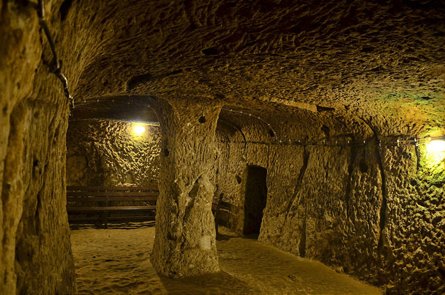 The safety of the underground. Author: Anthony G. Reyes CC BY-ND 2.0