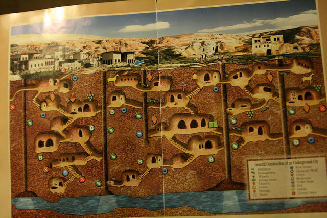 Underground City Map. Author: amitd CC BY 2.0