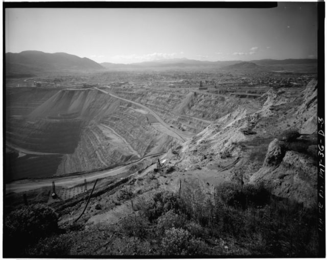 View of the Berkeley Pit