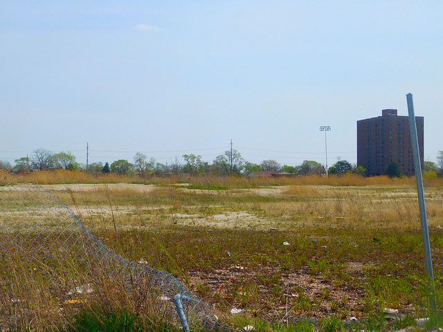 The site of Dixie Square Mall, 2016. Author: Adam Moss CC BY-SA 2.0