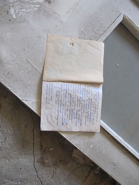 Written words of the past. Author: Laika ac CC BY-SA 2.0