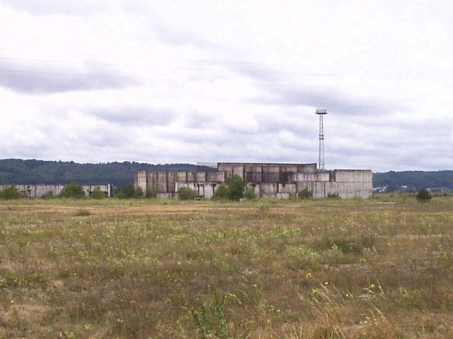 Remains of never completed Żarnowiec Nuclear Power Plant. Author: Jan Jerszyński CC BY-SA 2.5