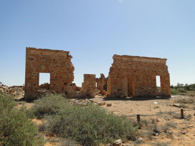Ruins of Exchange Hotel. Peterdownunder, CC BY-SA 4.0