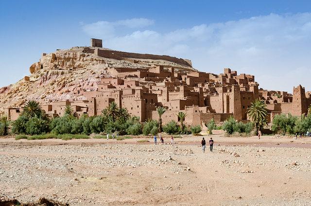 Ait-Ben-Haddou, Morocco. Author:xiquinhosilvaCC BY 2.0