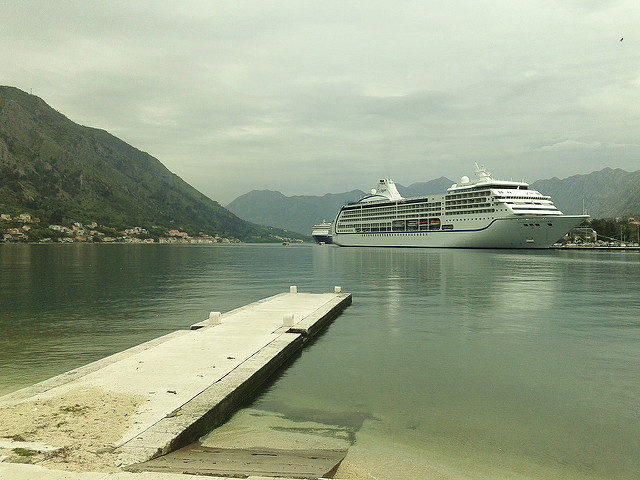 The view from the Hotel Fjord, Kotor. Author: Maxence CC BY 2.0