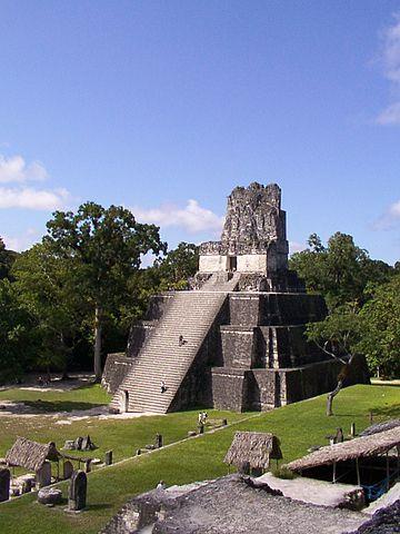 Temple II on the main plaza.Photo credit:yogi,CC BY-SA 2.0