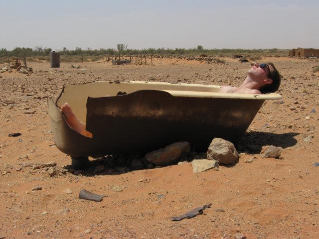 Sun Bath in Farina. Hal Jacob,CC BY-ND 2.0