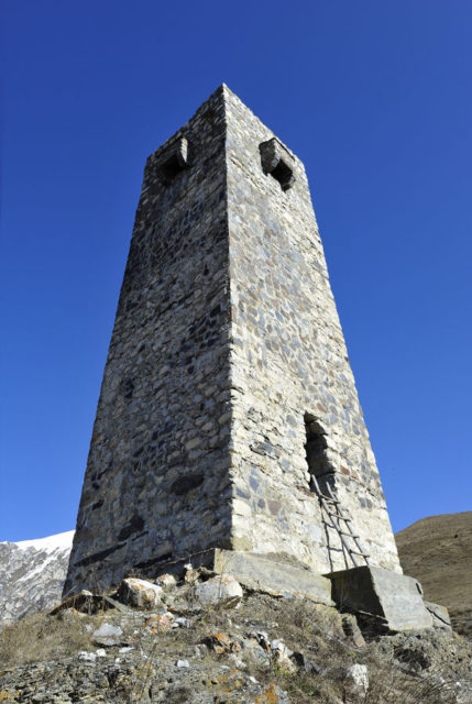 The tower.Author:Alex SvirkinCC BY-SA 3.0