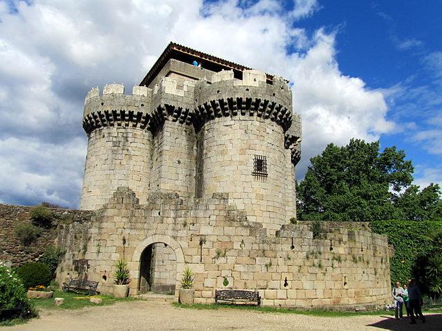 The Castle of Granadilla.Photo credit:Almudena,CC BY-SA 3.0 es